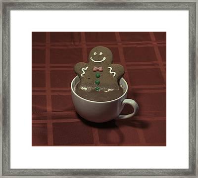 Gingerbread Spa Framed Print by Greg Thiemeyer