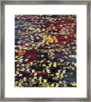 Ginkgo Leaves Framed Print by Kume Bryant