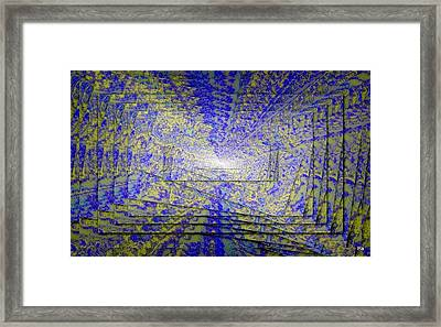 Gioco Coliori Framed Print by Halina Nechyporuk