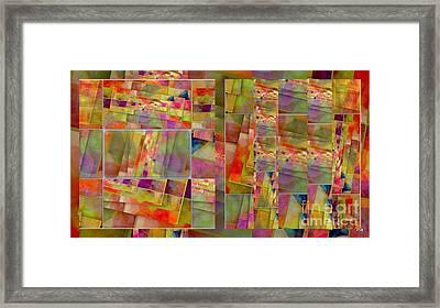 Gioco Di  Coliore Framed Print by Halina Nechyporuk