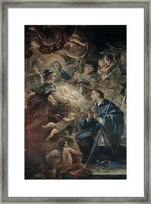 Giordano Luca, Death Of St Joseph, 17th Framed Print