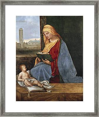 Giorgione, Pupil Of 15th-16th Century Framed Print by Everett