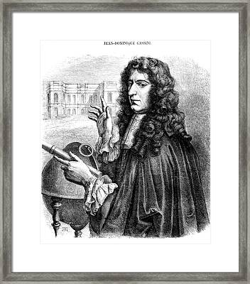 Giovanni Cassini Framed Print by Collection Abecasis