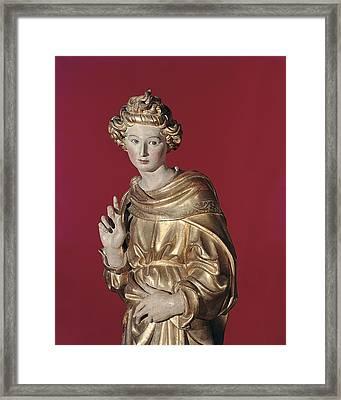 Giovanni Di Turino, Annunciation Framed Print