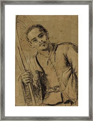 Giovanni Francesco Barbieri, Called Guercino Framed Print by Litz Collection