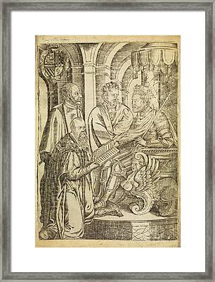 Giovanni Ingrassia Framed Print by Middle Temple Library