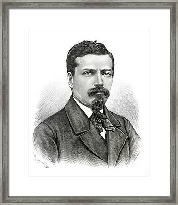 Giovanni Schiaparelli Framed Print by Paul D Stewart