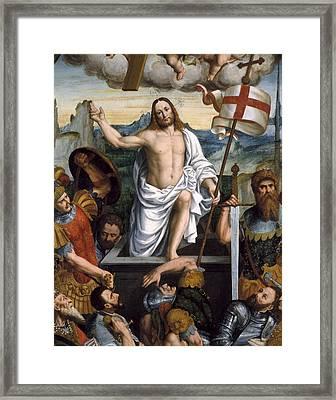 Giovenone, Giuseppe, Called Il Giovane Framed Print by Everett