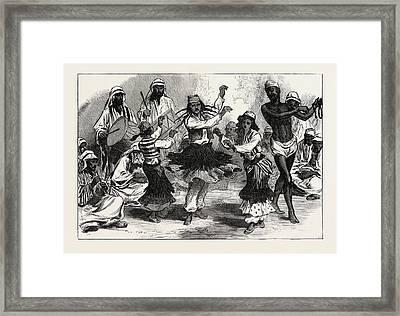 Gipsy-boy Dancers Framed Print