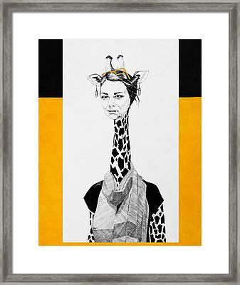 Giraffe Framed Print