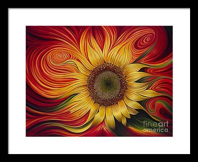 Flor Framed Prints