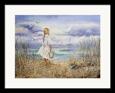 Sea-scape Framed Prints