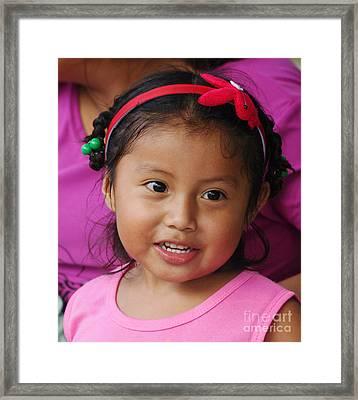 girl from Panama 2 Framed Print