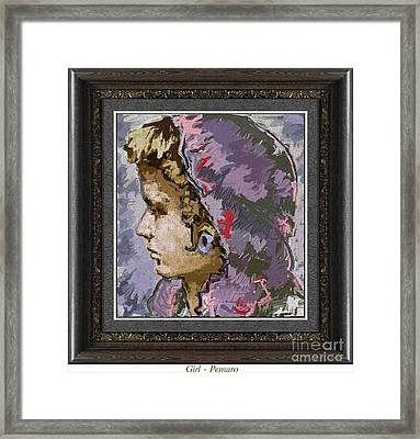 Girl G2 Framed Print
