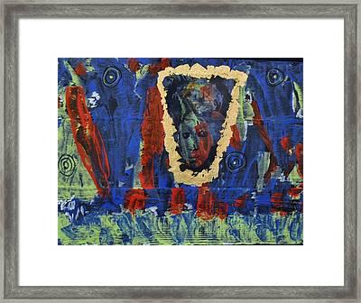 Girl In The Mirror Framed Print by Brenda Chapman