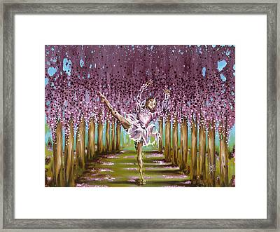 Blossom Framed Print by Karina Llergo