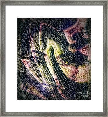 Girl Of My Dreams Framed Print