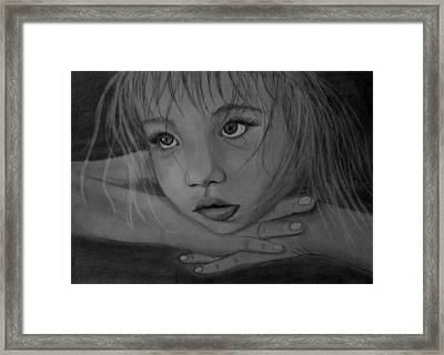 Girl Framed Print by Pawel Heluszka