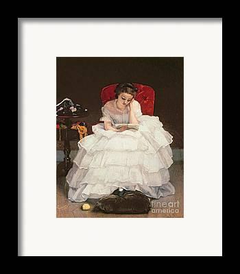 Engrossed Framed Prints
