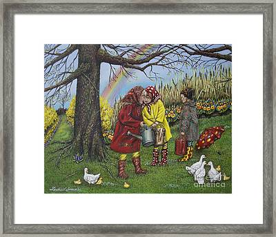 Girls Are Better Framed Print by Linda Simon