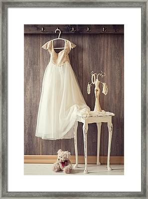 Girl's Bedroom Framed Print by Amanda Elwell