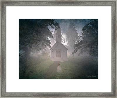 Framed Print featuring the digital art Girls Dream by Kylie Sabra