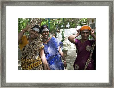 Girls Just Wanna Have Fun Framed Print by Lee Stickels