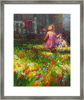 Girls Will Be Girls Framed Print