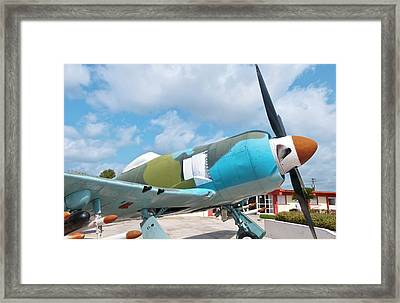 Giron, Cuba, At Bay Of Pigs Museum Framed Print