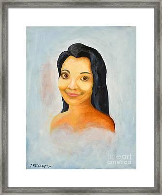 Gisela Framed Print
