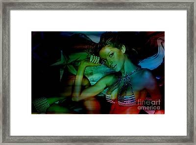 Gisele Art Framed Print by Marvin Blaine
