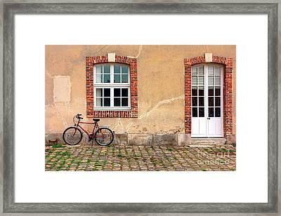 Gitane Framed Print by Olivier Le Queinec