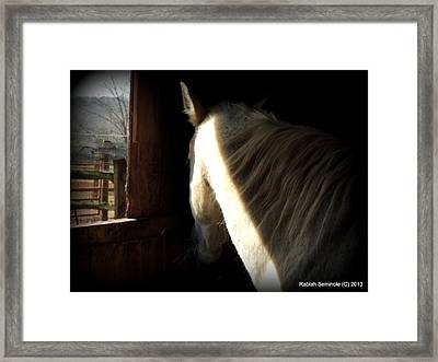 Gitchie Framed Print