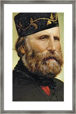 Giuseppe Garibaldi Framed Print by Unknown