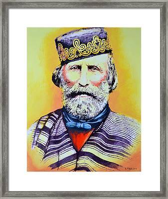 Giuseppe Garibaldi Framed Print