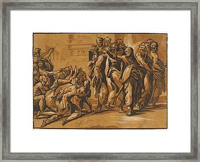 Giuseppe Nicola Rossigliani Italian, Active Ca. 1510 – Framed Print