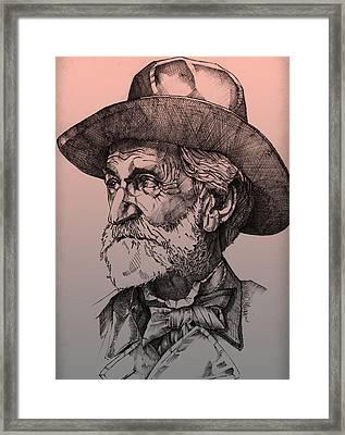 Giuseppe Verdi Framed Print by Derrick Higgins