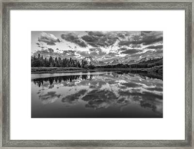 Give In Framed Print