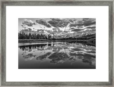 Give In Framed Print by Jon Glaser