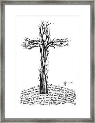 Give Me Jesus Framed Print by J Ferwerda