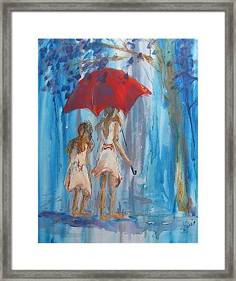 Give Me Shelter Framed Print by Terri Einer