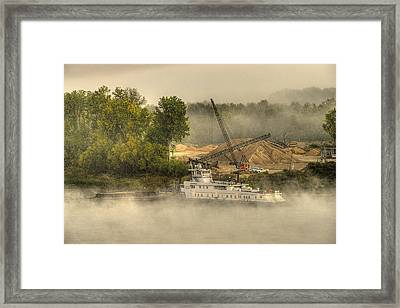 Give Us This Day Framed Print by William Fields