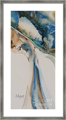 Giverney Framed Print by Donna Acheson-Juillet
