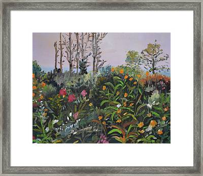 Giverny 2 Framed Print by Julie Todd-Cundiff