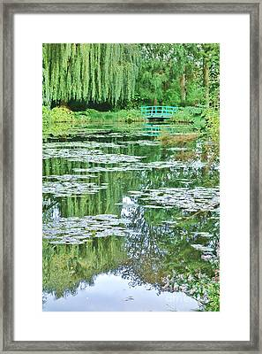 Giverny Framed Print