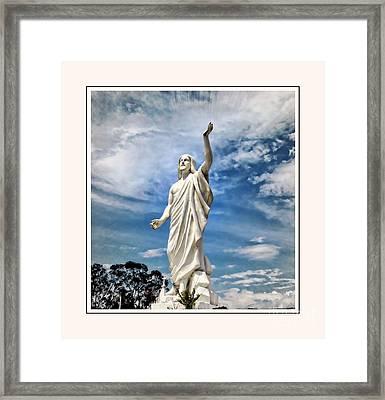 Giving Praise Framed Print by Elaine Manley