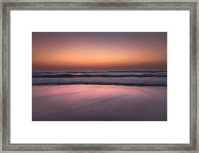 Framed Print featuring the photograph Giving Space To The Moon by Edgar Laureano
