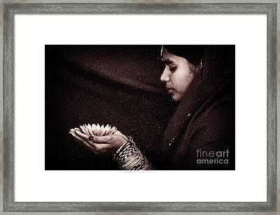 Giving Framed Print