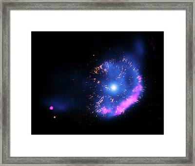Gk Persei Nova Framed Print by Nasa