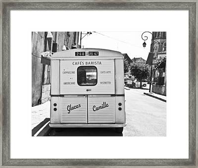 Glaces Camille Framed Print